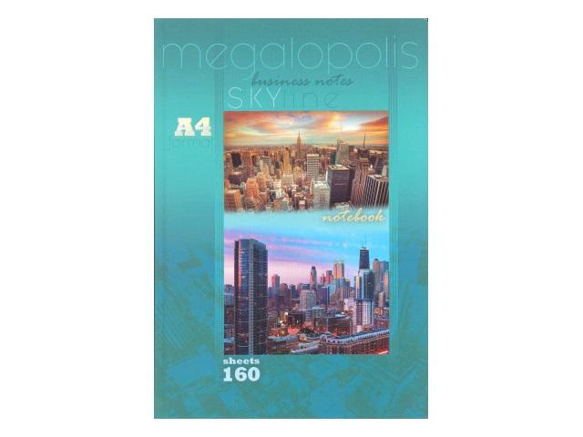 Книга канцелярская 160л Мегалополис-1 160-3983