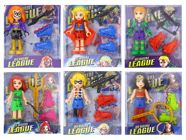 Фигурки Heroine League 9 см 2016-78