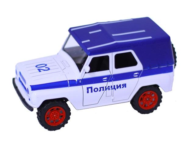 Машина инерционная Полиция УАЗ 171030-12
