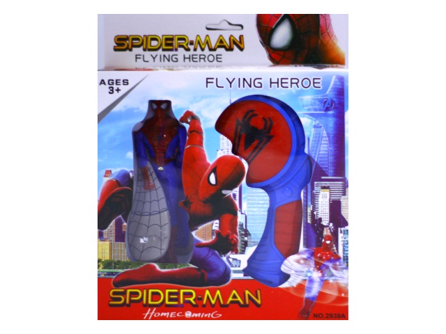 Запускная игрушка на батарейках Spider-man 2939А в коробке
