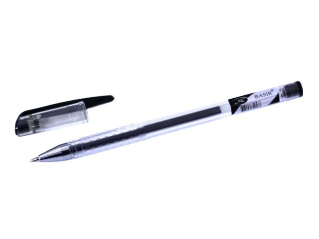 Ручка гел Basir черн 0.5мм MC-118