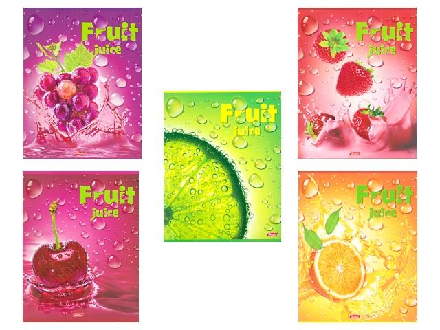 Тетрадь  48 л  #  Fruit Juice 3D 48Т5олВ1_15932