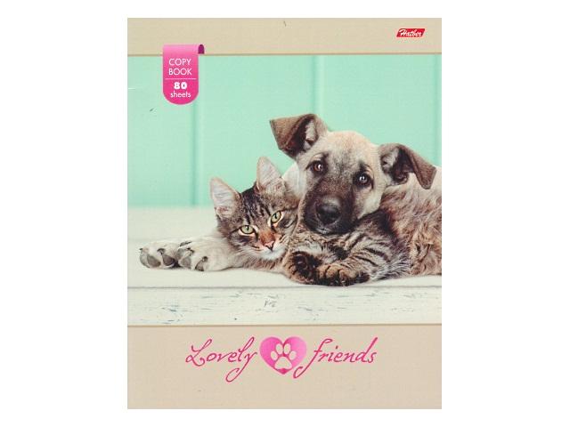 Тетрадь  80 л  #  Любимые друзья 80Т5В1_16571