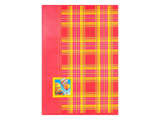 Книга канцелярская  48л м/обложка Шотландка 48Т4D3_01638