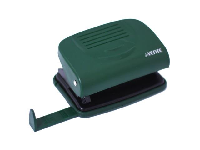 Дырокол на  20 листов пластик зеленый DeVente 4020337