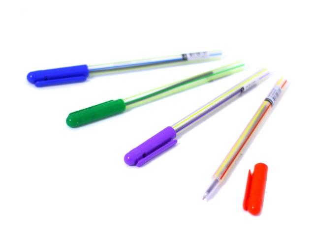 Ручка шар Darlens Stripe син 0.6мм DL-DRL00143