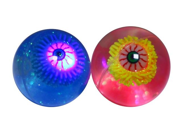 Мяч  6.5 см светящийся ассорти 635733