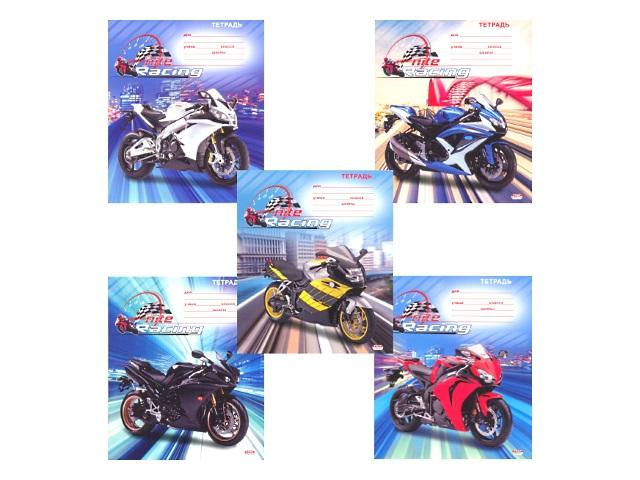 Тетрадь 12л линия Мотоциклы в городе Prof Press 12-3115