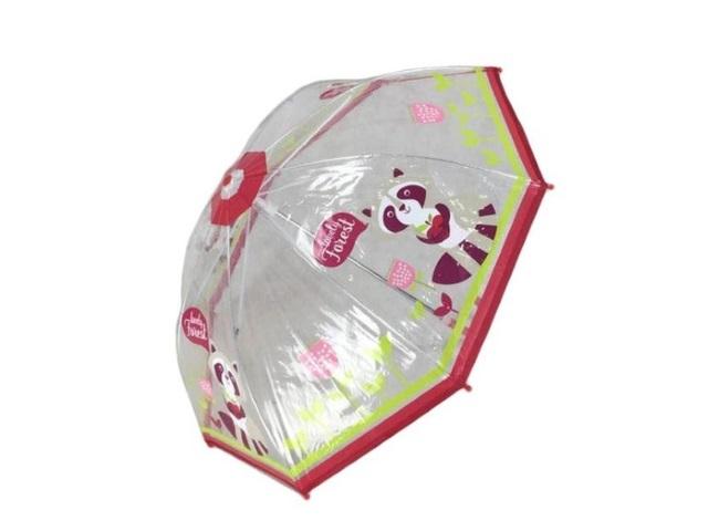Зонт Apple Forest 46см прозрачный 53596