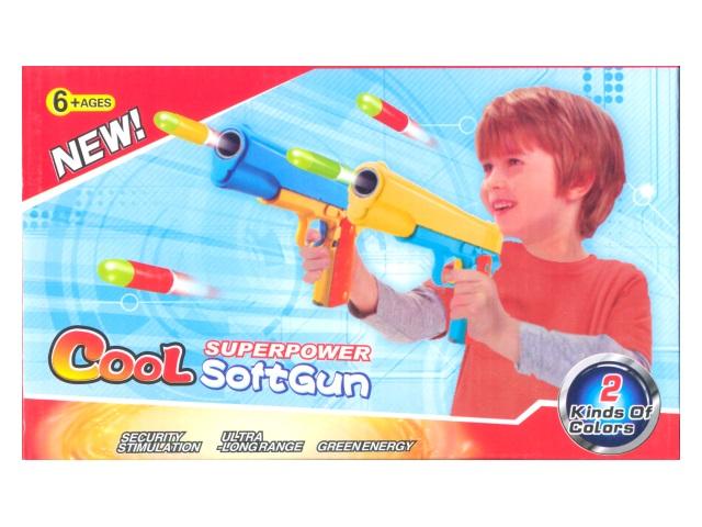 Пистолет 3 пули 447-13
