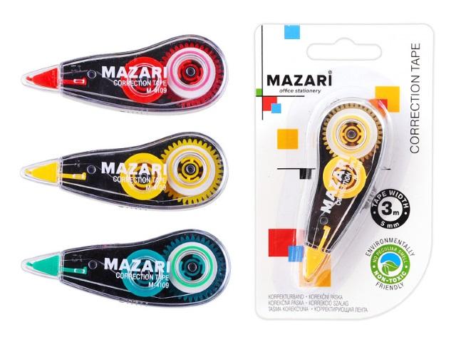 Корректор-лента 5мм* 3м Mazari М-4109