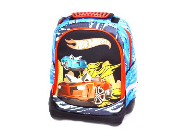 Ранец школьный Hot Wheels 38*32*16см черный Nice bag Mattel 4994946