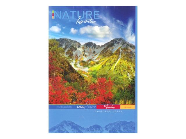Книга канцелярская  96л Горы и лес 96-3391