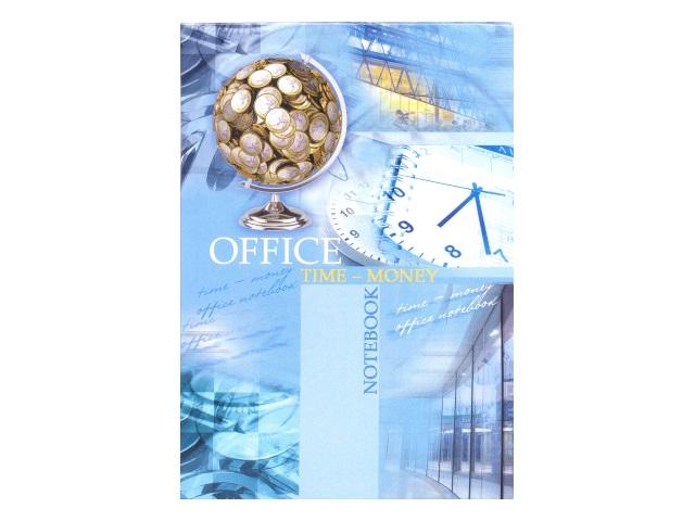 Записная книжка А6 интегр/обложка  64л Денежный глобус Prof Press 64-1282