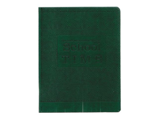 Дневник 1-11кл кожзам Школьный год зеленый Prof Press Д48-1650