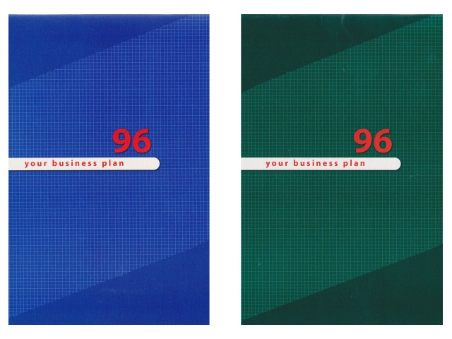 Блокнот А5 скоба сверху м/обложка 96л Для конференций-8 Prof Press Б96-4585