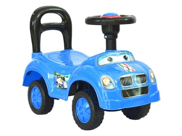 Машина-каталка Авторалли синяя Q09-1/BLUE