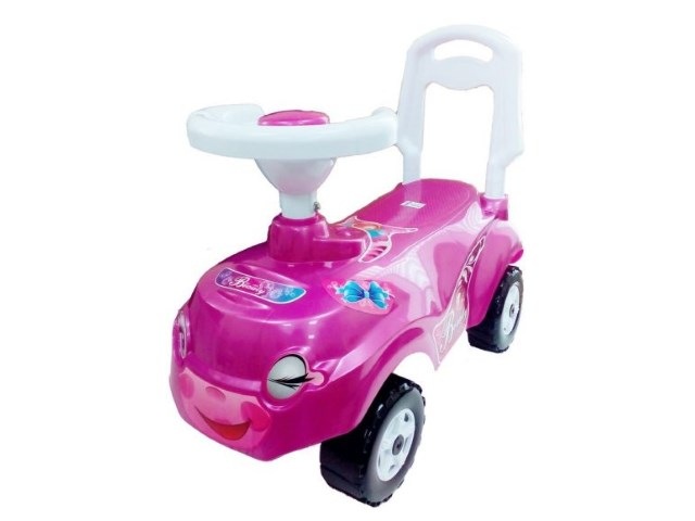 Машина-каталка Микрокар розовая ОР157кДев