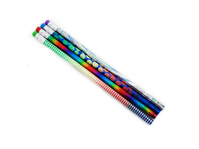 Карандаш HB Darlens Magic Stick круглый с ластиком C10427 DL-DRL00063