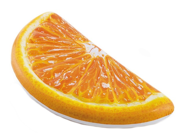 Матрац 178*85см Долька апельсина Intex 58763