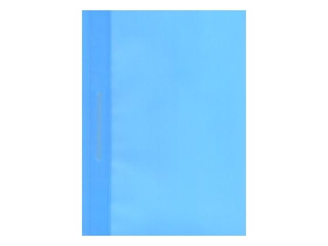 Скоросшиватель А4  голубой матовый Kanzfile ПС-200
