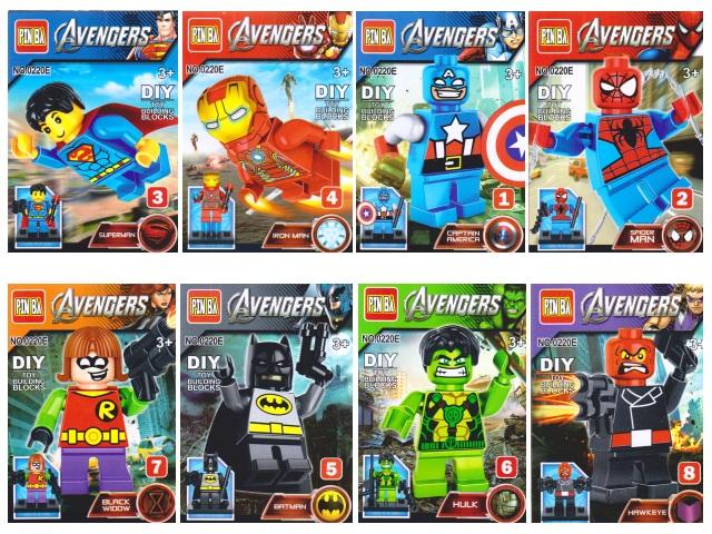 Конструктор Фигурка  Avengers 0220E