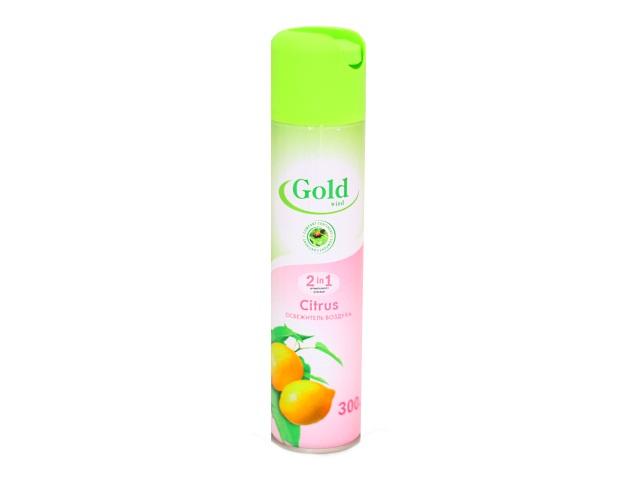 Освежитель воздуха 300 мл Citrus Gold Wind