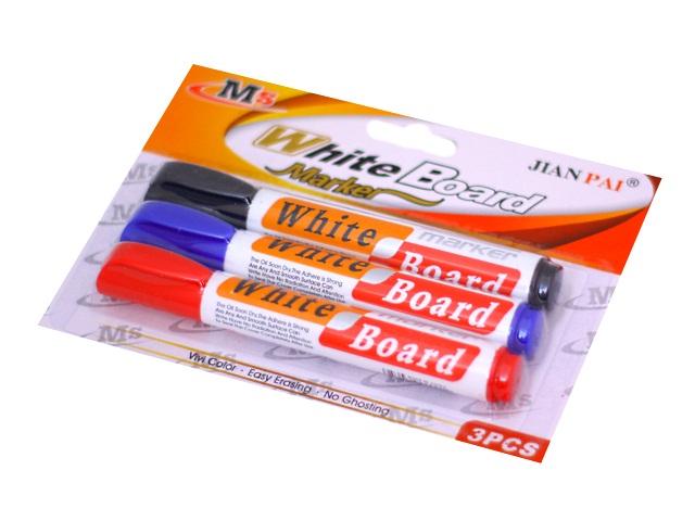 Маркеры для досок 3 шт. Basir круглые 5мм МС-4068-3