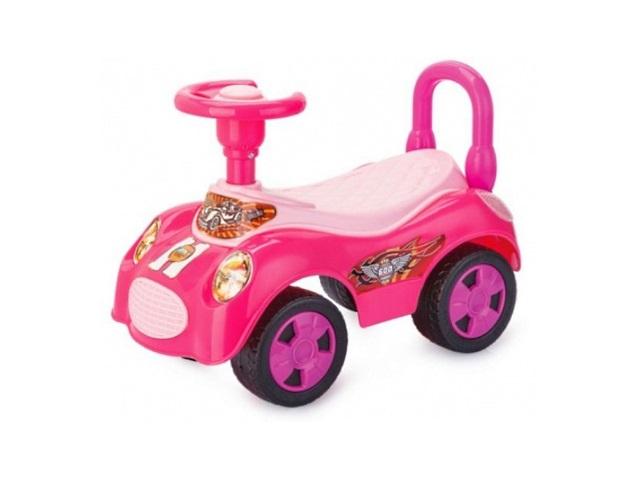 Машина-каталка Вояж розовая EBL8203/PINK