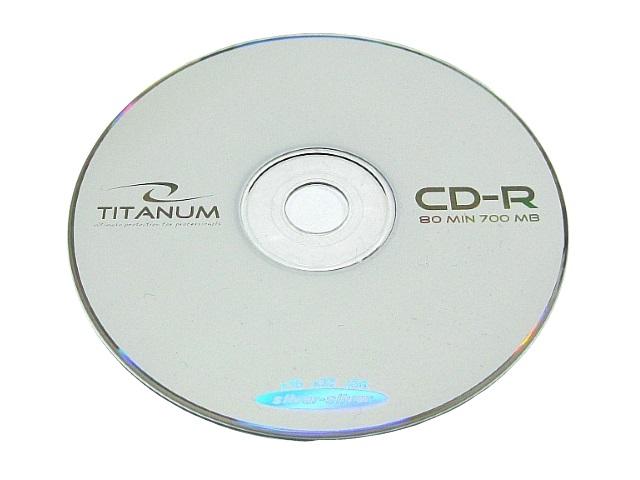 Диск CD-R Titanum Bulk 50шт 700Mb 52х