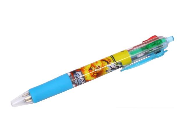 Ручка шариковая  4-х цветная автомат Centrum Max Steel 85683