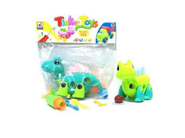 Конструктор с отверткой Динозаврик Tinker Toys 200226348
