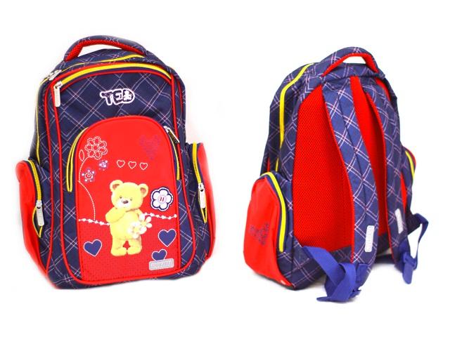 Рюкзак Basic Мишка Ted 600г 38*32*18см DeVente 7033800