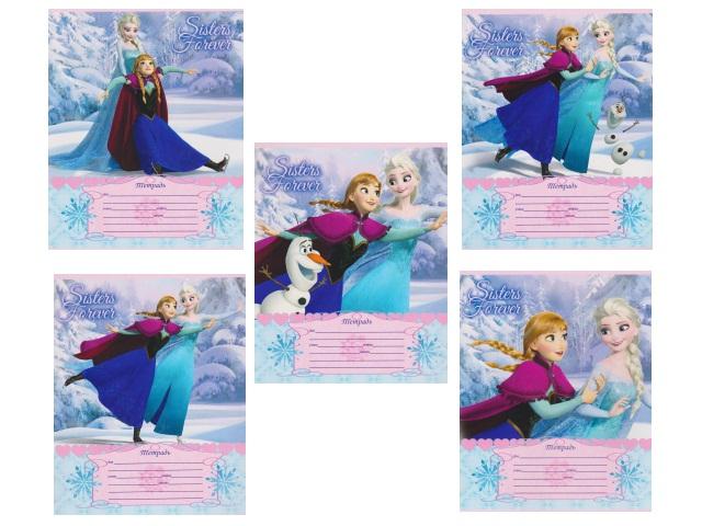 Тетрадь 12л клетка Disney Холодное сердце-55 Prof Press 12-6488
