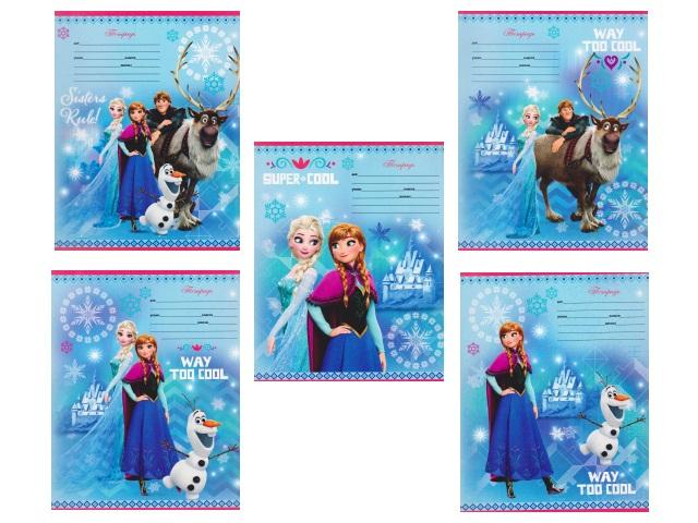 Тетрадь 12л линия Disney Холодное сердце-57 Prof Press 12-6976