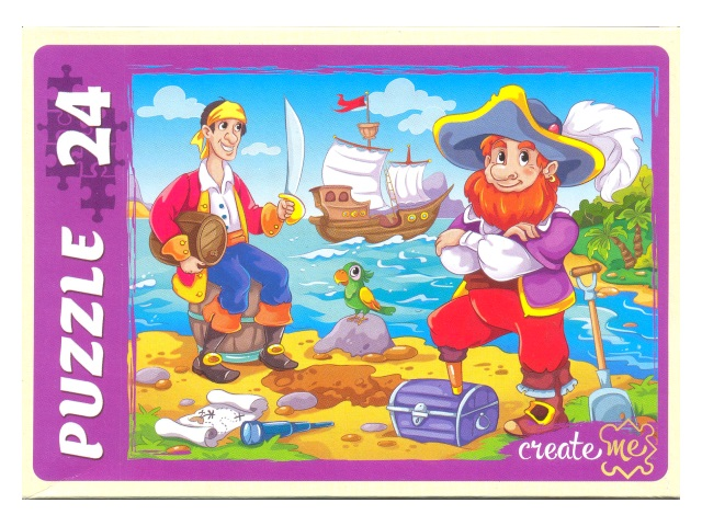 Пазлы   24 детали Пираты ПУ24-7293