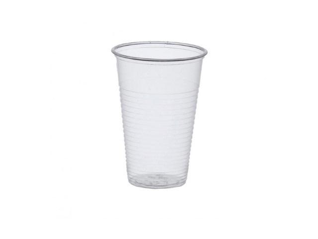 Стаканы пластиковые 200мл 50 шт. Ю.С.
