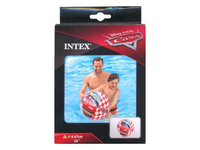 Мяч надувной Intex  61см Cars 58053