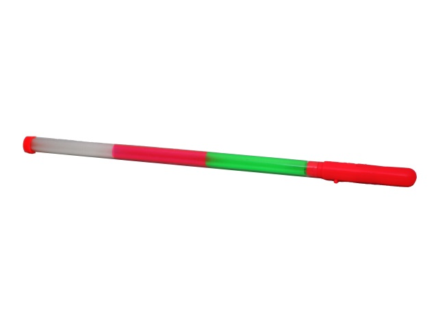 Палочка на батарейках 44 см светящаяся цветная 635013