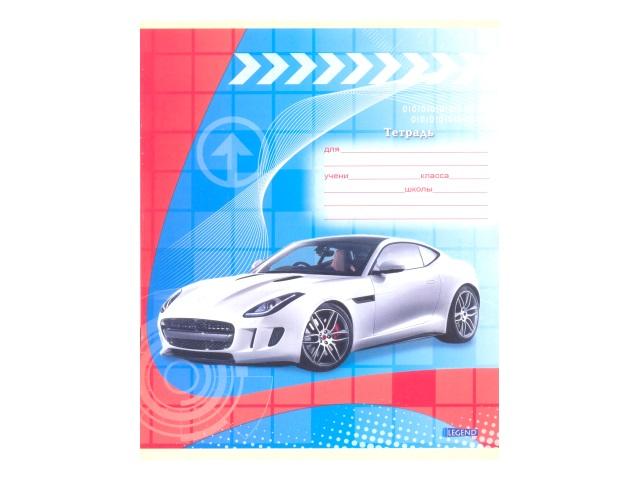 Тетрадь 12л линия Машины и графика-2 Legend 12-3717