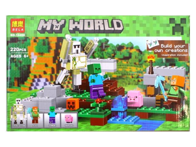 Конструктор 220 деталей My World 10468