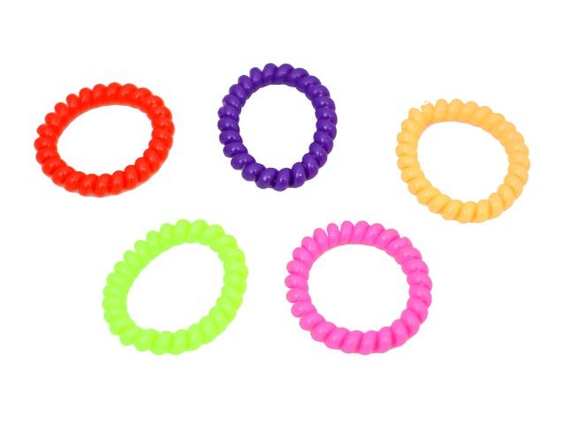Резинка Спираль пластик глянцевая 171087-6