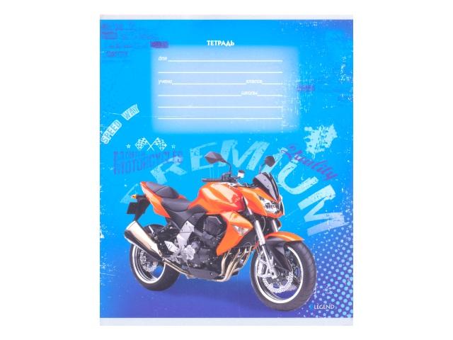 Тетрадь 12л клетка Мир мотоциклов-2 Legend 12-3669