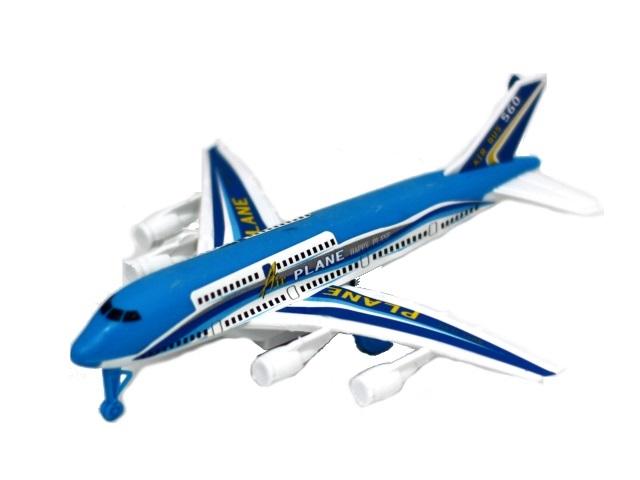Самолет инерционный 16см 171030-2