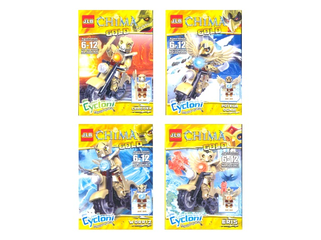 Конструктор  10 деталей Chima Gold 3D47901-6