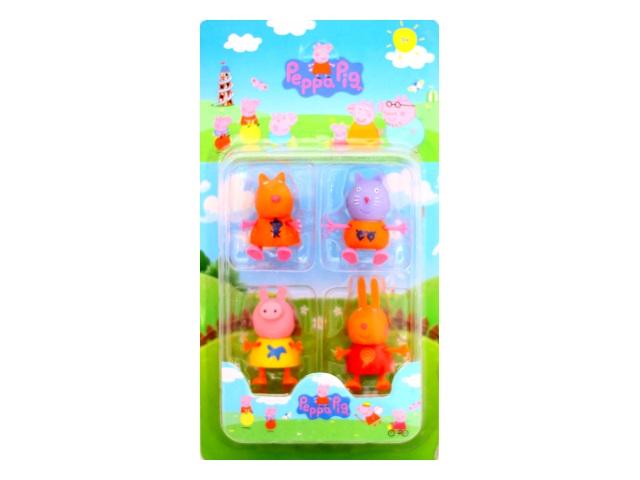Фигурки 4 шт. Peppa Pig G633-H42184