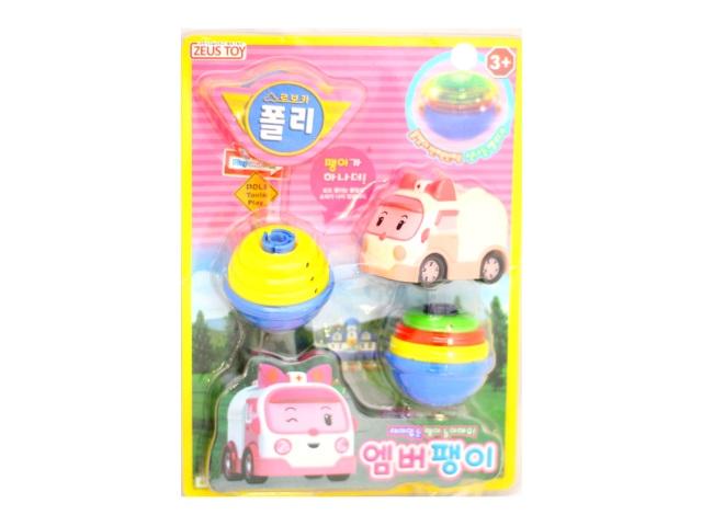 Запускная игрушка Волчок Робокар В1344782