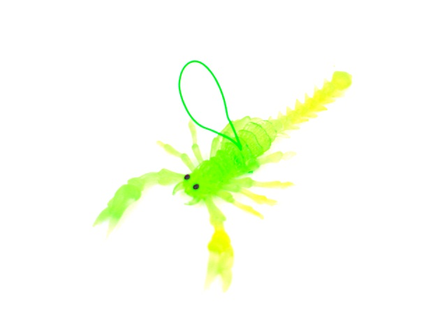 Скорпион резиновый 11см с подвесом