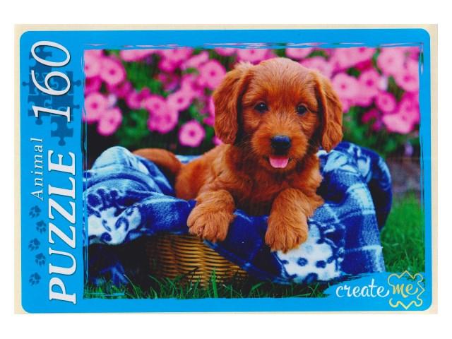 Пазлы  160 деталей Милый щенок У160-7248