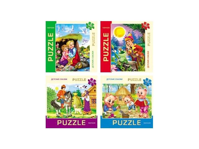 Пазлы  120 деталей Детские сказки П120-6438